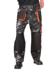 Kalhoty do pasu EMERTON CAMOUFLAGE