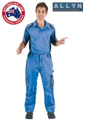 Kalhoty do pasu ALLYN - modré