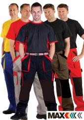 Montérkové kalhoty do pasu MAX COLOUR