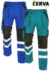 Montérkové kalhoty do pasu MAX REFLEX