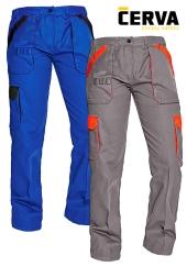 Dámské montérkové kalhoty do pasu MAX LADY