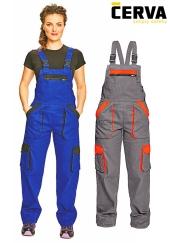 Dámské montérkové kalhoty s laclem MAX LADY