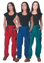 Montérkové kalhoty do pasu ALENA - dámské