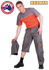 Kalhoty do pasu DESMAN odepínací nohavice