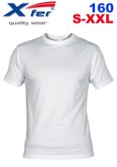 Tričko Xfer 160 BA - bílé