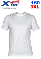 Tričko Xfer 160 BA 3XL - bílé
