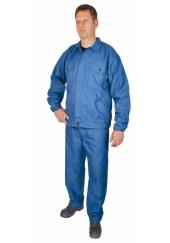 Oblek kyselinovzdorný CHEMIK - modrý