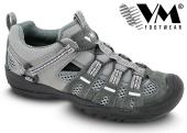 Treková obuv VM JAKARTA outdoorová nízká - šedá