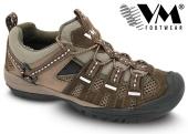Treková obuv VM JAKARTA outdoorová nízká - hnědá