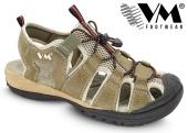 Treková obuv VM AUSTIN outdoorové sandále - khaki