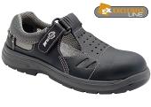 Pracovní obuv PRABOS RICHARD sandály S1 - černé