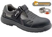 Pracovní obuv PRABOS RICHARD sandály O1 - černé