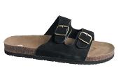 Pracovní obuv korkové pantofle pánské - černé
