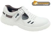 Pracovní obuv PRABOS RICHARD sandály S1 - bílé
