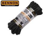 Tkaničky do bot BNN BOX kulaté černé - 170 cm