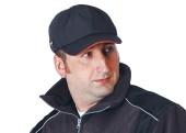 Zimní čepice EMERTON WINTER s kšiltem - černá