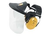 Mušlové chrániče sluchu s PC štítem PELTOR V40FH510A-401-GU