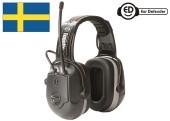 Ochranná sluchátka EAR DEFENDER TuneUp se zabudovaným FM rádiem