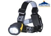 Čelovka svítilna PORTWEST PA63 Dual Power CREE