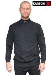 Nehořlavé tričko CarbonX ULTIMATE antistatické S/XL - černé