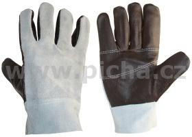 e19883f3440 Pracovní rukavice kožené ASP120 - velikost 10