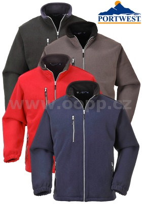 Bunda fleece PORTWEST F401 CITY - zdvojený fleece