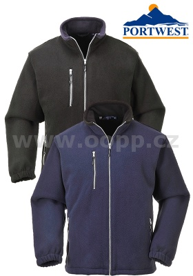 Bunda fleece PORTWEST F401X CITY - zdvojený fleece