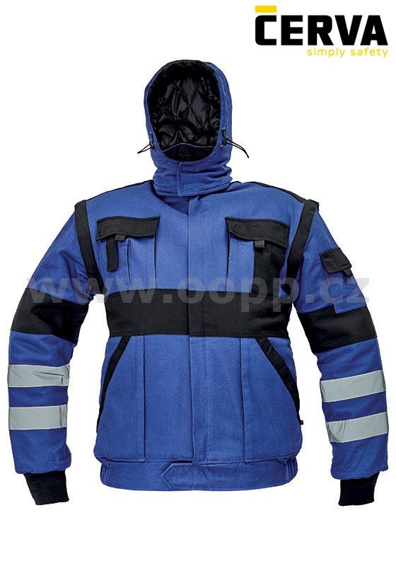 9d70817c3bf2 Zateplená montérková bunda MAX WINTER REFLEX   Pracovní oděvy ...