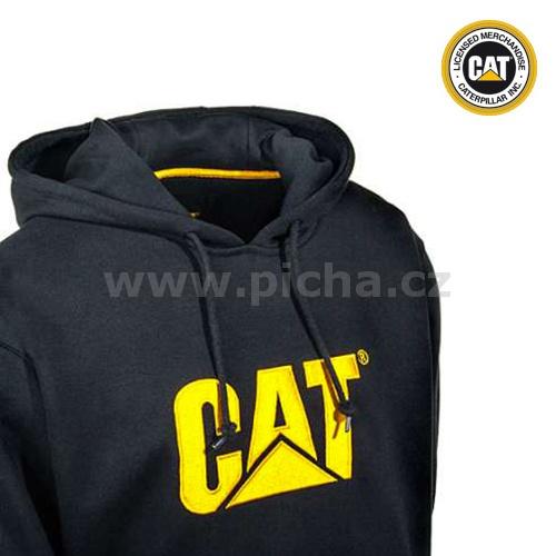 48d6548194c Mikina CATERPILLAR SWEATSHIRT CAT s kapucou - černá   Pracovní oděvy ...
