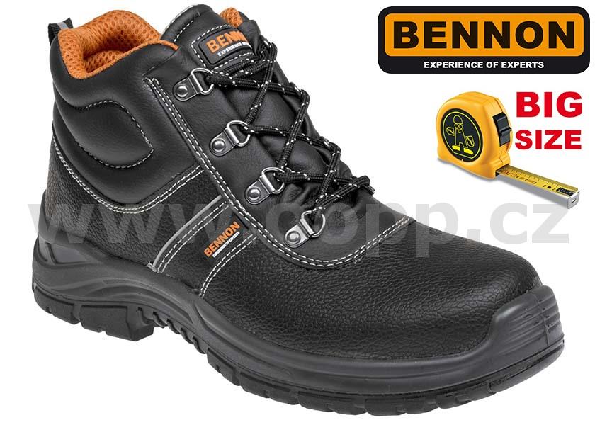 Pracovní obuv BENNON BNN BASIC O1 HIGH 49 50 - kotníková   Pracovní ... 742208f728