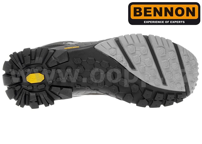 Trekové boty BENNON BNN FILIPO O2 HIGH - kotníkové   Pracovní obuv ... 2320b25962