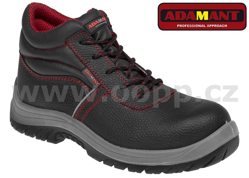7776ba7e77ce Pracovní obuv ADAMANT ADM NON METALLIC S3 HIGH SRC - kotníková ...
