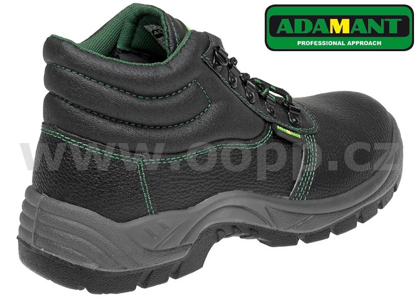Pracovní obuv ADAMANT ADM CLASSIC O1 HIGH SRC - kotníková   Pracovní ... 1c190092c95