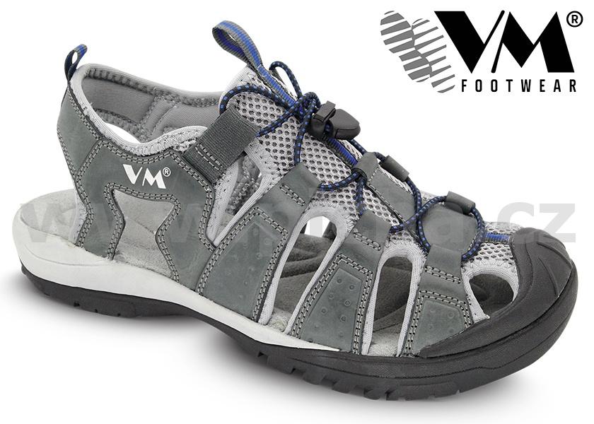 Treková obuv VM AUSTIN outdoorové sandále - šedé   Pracovní obuv ... e355714e01