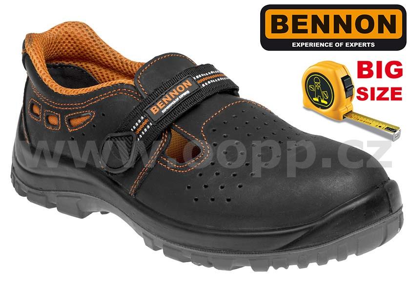 650b43d0a354 Pracovní boty BENNON BNN LUX S1 49 50 - sandály   Pracovní obuv ...