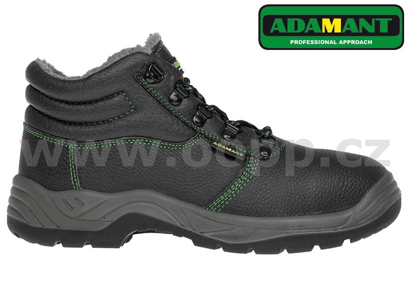 Zimní pracovní obuv ADAMANT ADM CLASSIC S3 WINTER HIGH Cl - kotníková 331281a2ab1