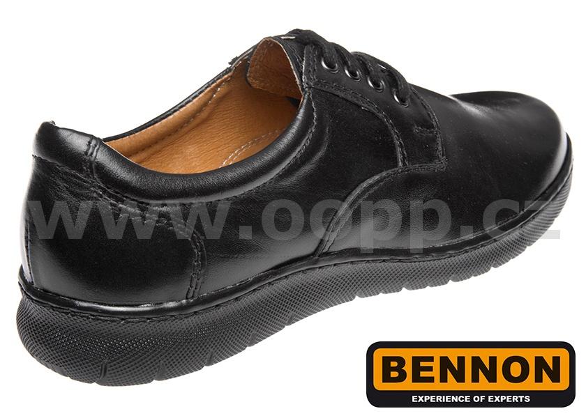 Dámské služební polobotky BENNON BNN NICOLA - černé   Pracovní obuv ... 53fe1d87d4