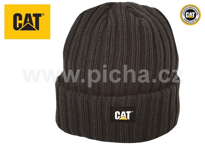 39bb1012ffe Čepice CATERPILLAR RIB WATCH pletená - černá   Přilby - Ochrana ...